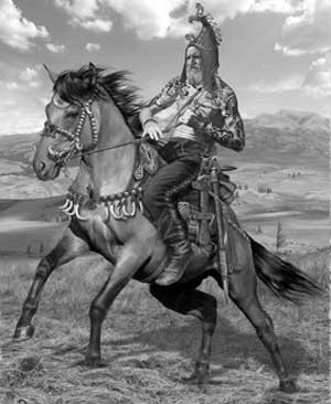 In the south and southwest ancient scythians came into contact with the ancient, in the west with the culture of the Celts, and in the east with the cultures of Central Asia and China
